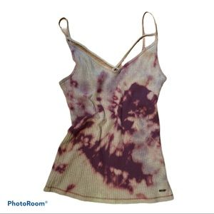 EUC Hollister Co custom dye cami tank